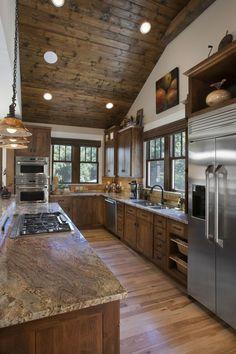 29 Cool Stone And Rock Kitchen Backsplashes That Wow | Cabinet Ideas |  Pinterest | Free Kitchen Design, Kitchen Backsplash And Kitchen Design