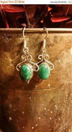 Check out this item in my Etsy shop https://www.etsy.com/listing/483992675/40-off-fall-flash-sale-zoisite-earrings