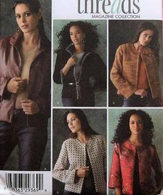 Jacket Sewing Pattern UNCUT Simplicity 4328 Sizes 6-12