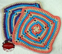 Over 20 Pretty and Free Washcloth Crochet Patterns compiled by Simply Collectible  | @SCCelinaLane @KatiDCreations