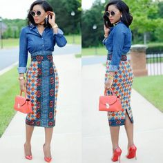 WE CAN'T STOP LOOKING AT THESE ANKARA STYLES...