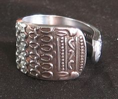 Stainless Steel spoon ring – size 8 by LynnBDesign on Etsy