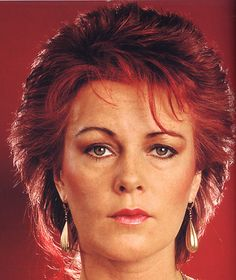 Anni-Frid Lyngstad, ABBA.  she' knows there's something going on
