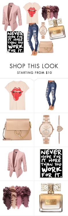 """Untitled #27"" by amela83 ❤ liked on Polyvore featuring MadeWorn, Chloé, Michael Kors, Stupell and Givenchy"