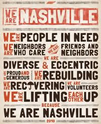 Nashville Flood Recovery.  We Are Nashville and the people proved it. #OnlyInNashville