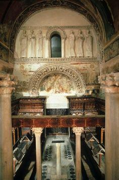 Cividale del Friuli - Tempietto longobardo - I Longobardi in Italia. Luoghi di potere  - dal 2011 Patrimonio dell'Umanità
