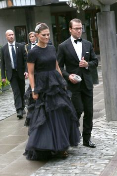 Crown Princess Victoria and Prince Daniel of Sweden attended the World Childhood Foundation banquet 9/8/14