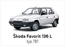 Škoda Favorit 136 L typ 781 (1989 – modelový rok 1990)