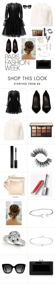 """Paris fashion week"" by silviamachado20 ❤ liked on Polyvore featuring Elie Saab, Maison Margiela, La Seine & Moi, Forever 21, Burberry, Alex and Ani, Gucci, Judith Leiber, parisfashionweek and Packandgo"
