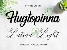 Calligraphy Fonts, Modern Calligraphy, Font Software, Floral Font, Font Digital, Great Fonts, Bold Fonts, Brush Font