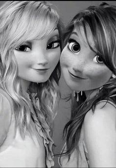 Ma sœur  #sistersforever #frozen #loveyou 😊💜💘