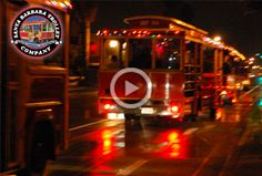 Santa Barbara Lights Tour Trolley