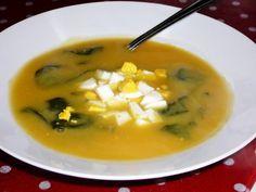 Sopa de Grao com Espinafre Da Minha Mae - Amor e Sabores
