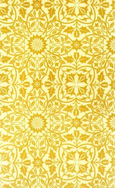 Ceiling paper designed for St. James' Palace by William Morris