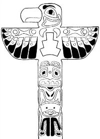 Totem Pole clipart northwest coast indians - pin to your gallery. Explore what was found for the totem pole clipart northwest coast indians Colouring Pages, Printable Coloring Pages, Coloring Pages For Kids, Coloring Books, Coloring Sheets, Indian Crafts, Indian Art, Totem Pole Art, Kids Cartoon Characters
