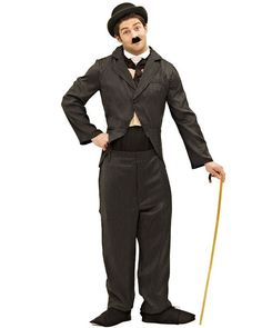 Charlie Chaplin Mens Costume Funny Costumes Movie Star Men S