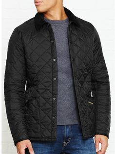 BARBOUR Heritage Liddesdale Quilted Jacket - BlackSize & FitRegular fit…