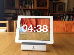 The Chameleon clock lets you see right through your phone!