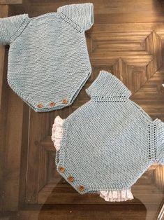 Teddy Bear Sweater pattern by Marta Porcel Knitting Kits, Sweater Knitting Patterns, Knitting For Kids, Free Knitting, Crochet Baby, Free Crochet, Crochet Bikini, Knit Crochet, Knit Shrug