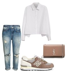 """Casual style"" by claudiagabriela18 on Polyvore featuring Y's by Yohji Yamamoto, New Balance and Yves Saint Laurent"