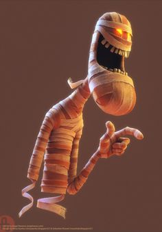 Mummy by Angel Navarro, via Behance