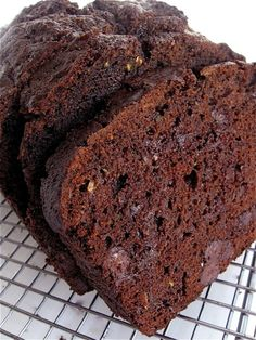 Double Chocolate Zucchini Bread - this is absolutely delish!
