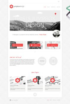 15 Inspirational Examples of Minimal & Clean Web Design