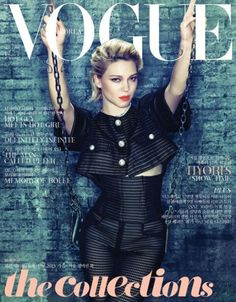 Vogue Korea May 2013 : Léa Seydoux by Tae Woo