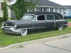 1950'S Cadillac  Hearse