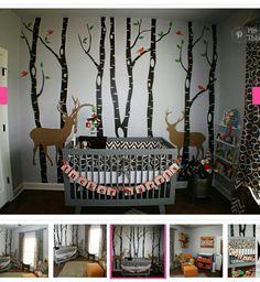 Woodland nursery ideas