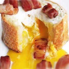 Egg Bacon Baguette B