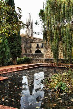 Girona, luces y reflejos,