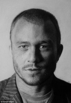 Heath Ledger #Paint oO