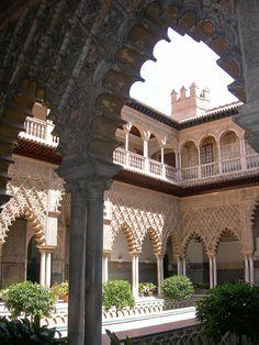 Patio de las Doncellas - Real Alcázar de Sevilla.