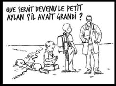 Rania (Jordanie) en réponse à un dessin de Riss dans Charlie-Hebdo