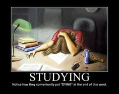 Why I Hate Studying...