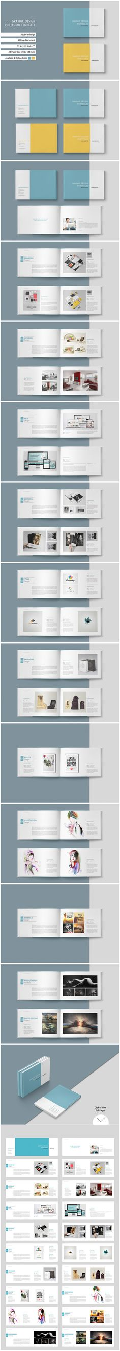 This is 40 page minimal brochure template is for designers working on product/graphic design portfolios interior design catalogues, product catalogues, and agency based projects. Just drop in your own images and texts, and its Ready to Print. More