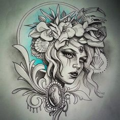 Amazing sketch tattoo