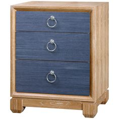 Bungalow 5 Calvin 3-Drawer Side Table