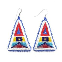 Apsaalooké triangles in 3 color ways now available at byellowtail.com #byellowtailcollective