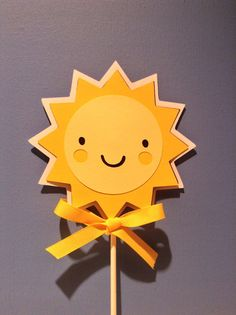 SUNSHINE SUN cake topper  You are my by CreativePartyBanners