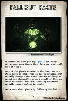 Fallout Facts. Check out my blog ApertureGaming.net for more great Fallout content!