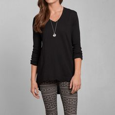 Womens Wilt Long Sleeve Tunic | Womens Tops | Abercrombie.com