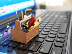 Toolbox With Tools, Software, Digital Revolution, Online Support, Computer Repair, Machine Tools, Tool Box, Non Profit, Service Design