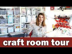 Quick craft room tour & winner announcement