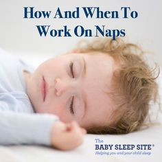 Most of us associate sleep training with nighttime sleep...but sleep training applies to naps, too! In fact, some families find that they have to tackle naps separately from nights, and that naps require a different sleep training approach. When should you work on nap training your little one? And how should you go about helping your baby or toddler nap better?