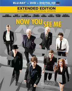 Now You See Me DVD Review: One Magical Movie