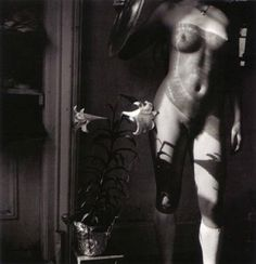Easter Lillies, Providence, Rhode Island by Francesca Woodman