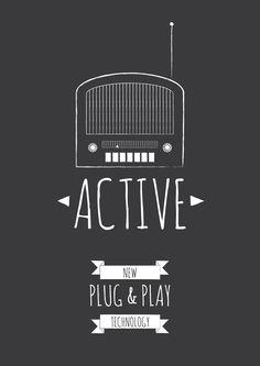 RadioActive  - Brand new plug & play, wireless technology. No software updates needed.