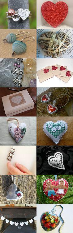 All Heart by Lorna on Etsy--Pinned with TreasuryPin.com